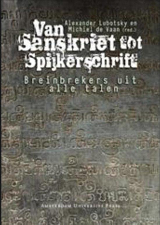 Van sanskrit tot spijkerschrijft