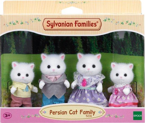 Sylvanian Families 5216 Familie Perzische Kat - Speelfigurenset