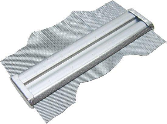 Stalen Profielmeter profielkam profielaftaster profiel mal meter 150mm