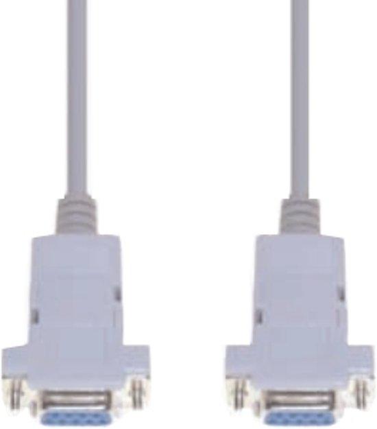 e+p CC 558/3 kabeladapter/verloopstukje 9pin Sub-D Grijs