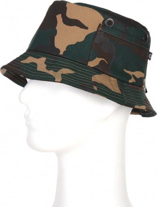 Vissershoedje camouflage print 57 cm