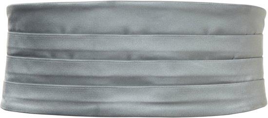 Cumberband in een fijne satijnen kwaliteit, grijs #cb4_ONESIZE, maat One size