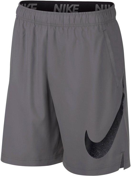 Nike Flex 2.0 Sportbroek - Maat M  - Mannen - grijs/zwart