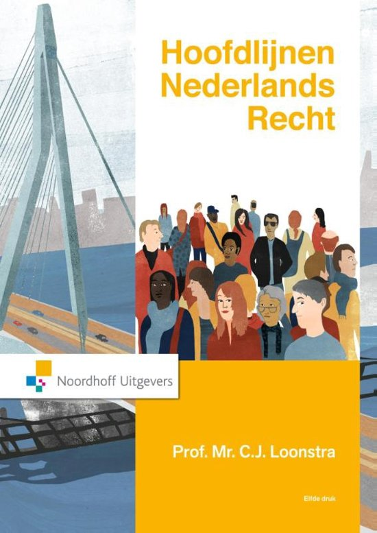 Hoofdlijnen Nederlands recht - C.J. Loonstra
