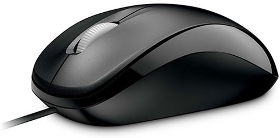 Souris MICROSOFT COMPACT OPTICAL MOUSE 500 NOIR