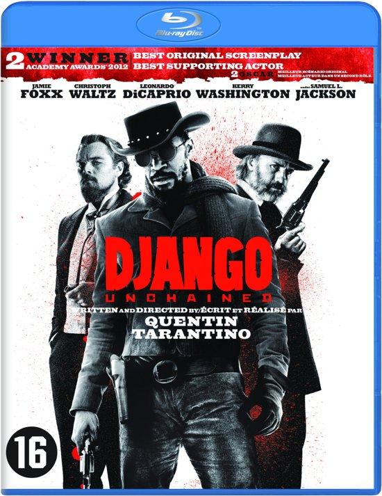 DVD cover van Django Unchained (Blu-ray)