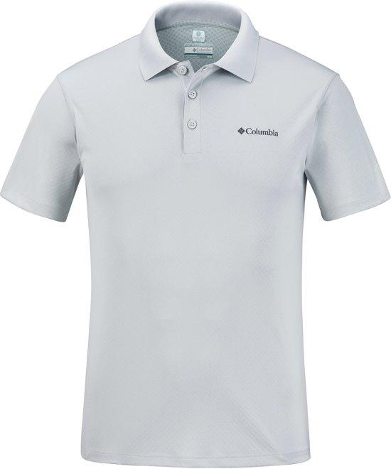 Columbia Zero Rules Polo Shirt Sportpolo Heren - Cool Grey