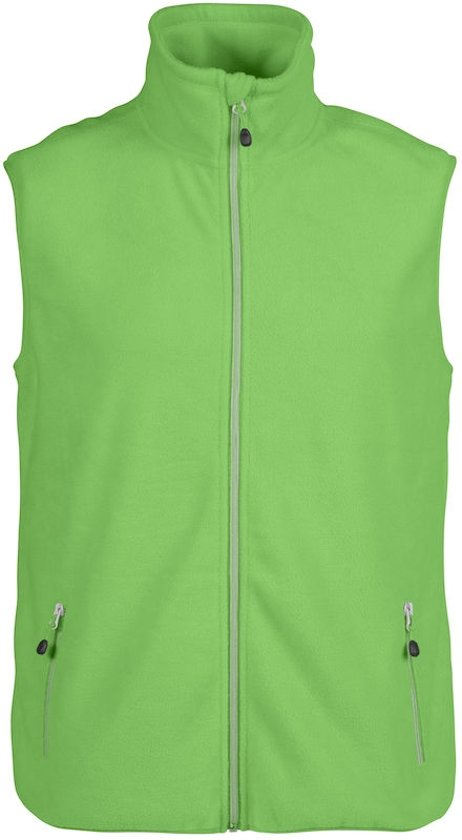 Printer Fleece L Lime Sideflip Vest D9WYbeIH2E