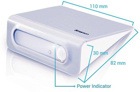 Licht En Bewegingssensor : Bol.com sensor light sensorlamp met 5 leds bewegingssensor 3