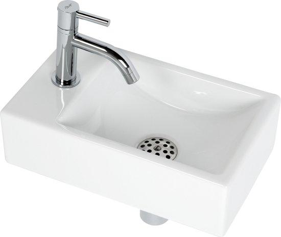 bolcom  Plieger Austin Fontein Toilet Links  Set  Fontein 37 x 23 cm incl # Plieger Wasbak_014025