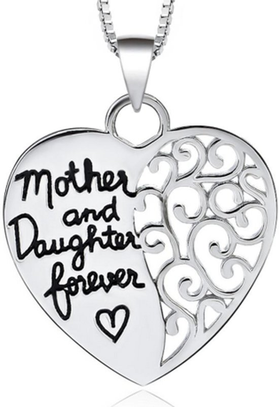 Bolcom Mother And Daughter Forever Ketting Hart