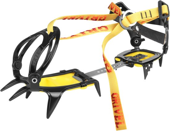 Grivel G10 stijgijzers New-Classic geel