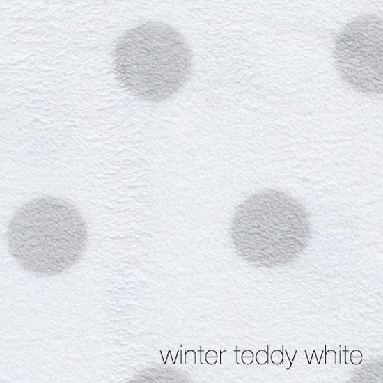 Puckababy Gogo Wikkeldoek Teddy White - 0-7 maanden