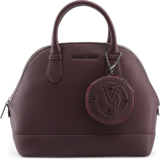 75462 E1vqbbp3 Vrouw Maroon JeansHandtassen Versace Oknw80P
