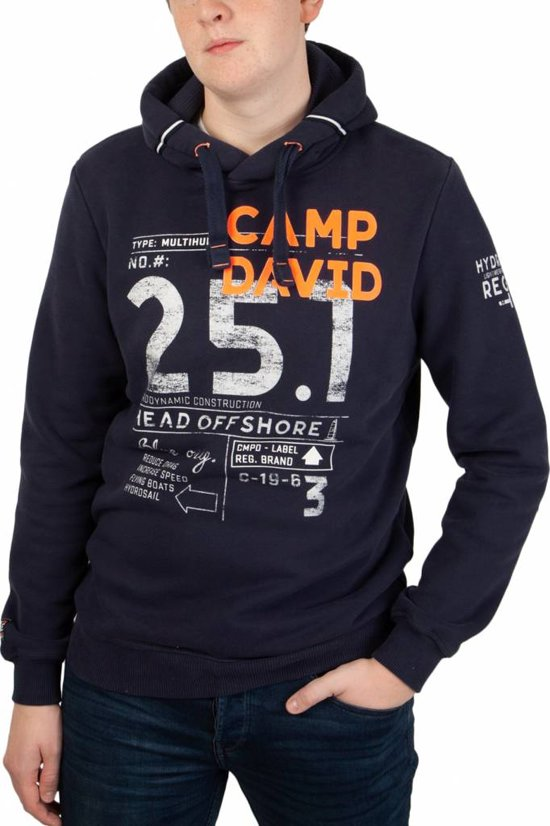 Camp David Hoodie Future of Sailing