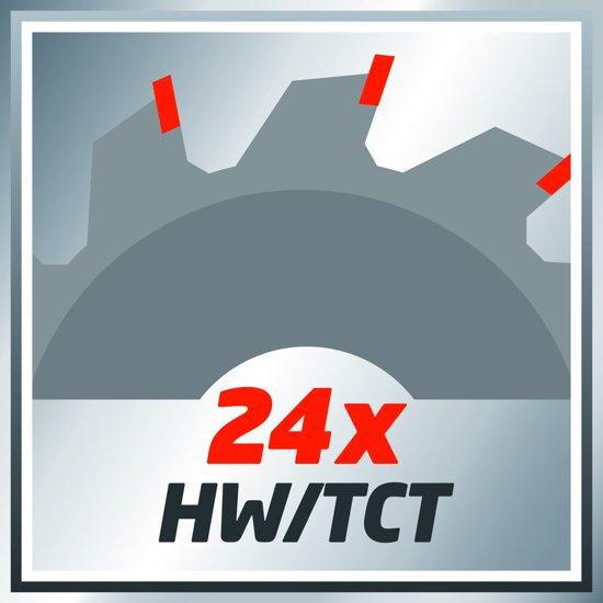 Einhell TC-CS 1200 Handcirkelzaag - 1230 W - Ø 160 x Ø 16 x 2,5 mm / T 24
