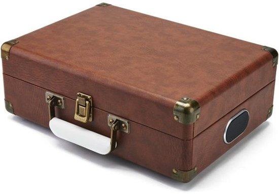 GPO Attache USB Platenspeler Vintage Bruin