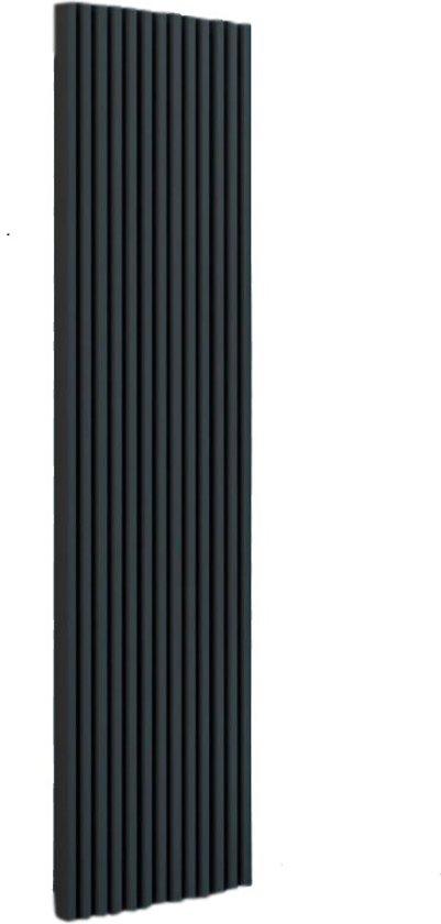 Radiator Verticaal Design.Design Radiator Verticaal Staal Mat Antraciet 180x50cm 1503 Watt Eastbrook Rowsham