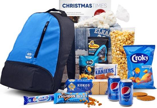 Kerstpakket Tasty blue