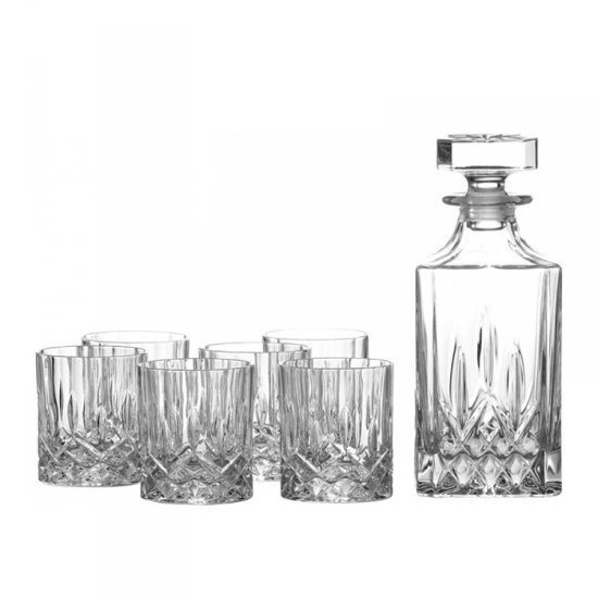 Royal Doulton Decanteerset whisky 7-delig