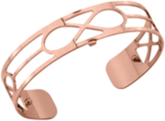 Les Georgettes armband Infinity 14mm Rose