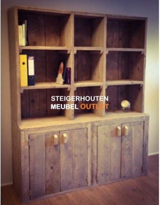 Wandkast Steigerhout Matraville