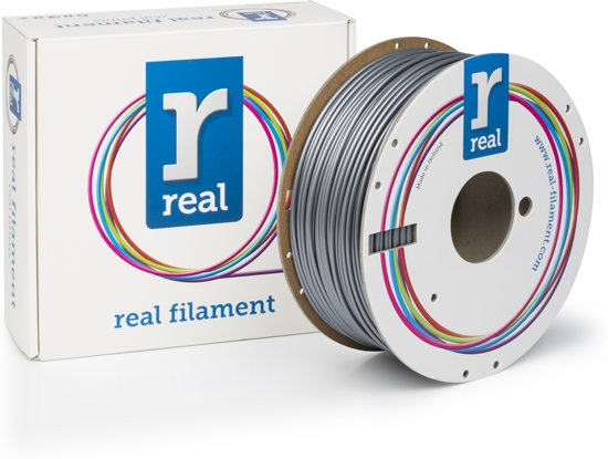 REAL Filament PLA zilver 2.85mm (1kg)
