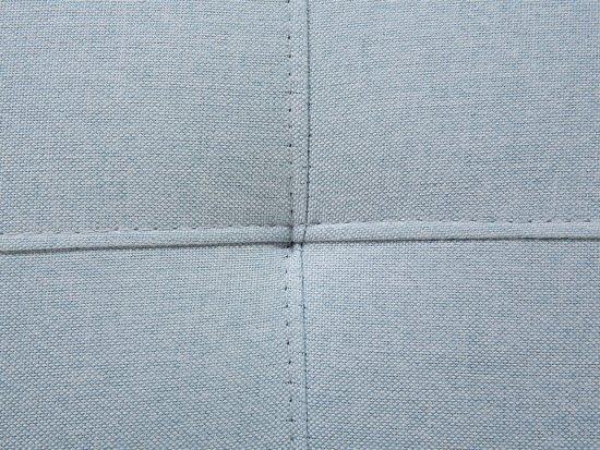 Beliani Slaapbank lichtblauw - bank - stof - 200 cm DERBY