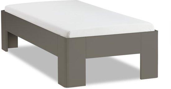 Matras 1 Persoons : Bol.com bed fresh 450 met lattenbodem en matras 1 persoons