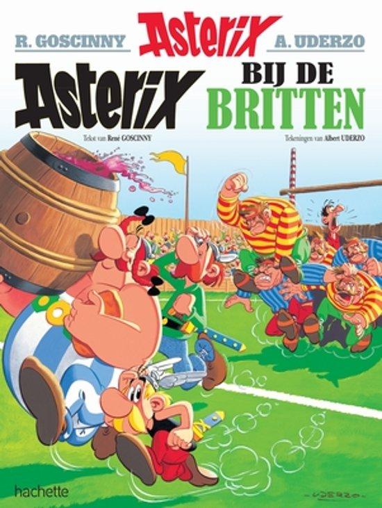 Boek cover Asterix 08. Asterix bij de Britten van Albert Uderzo (Paperback)