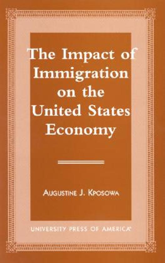 the impact that immigration impose on american society The multiple laws which governed immigration and naturalization to that time were brought into one comprehensive statute, the immigration and nationality act of 1952.