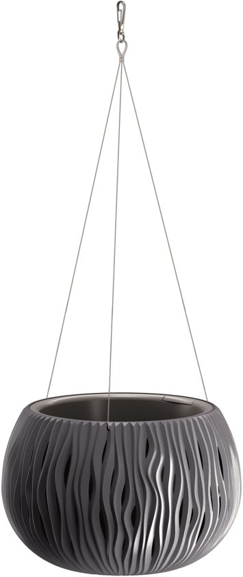 Hangpot Sandy Bowl WS Set 29cm ANTRACIET Prosperplast