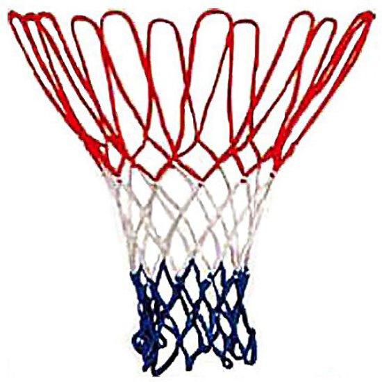 Basketbal-ring-Net rood/wit/blauw nylon
