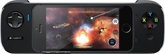 Logitech PowerShell Controller voor iPhone 5, iPhone 5s of iPod Touch (5e gen) - Zwart