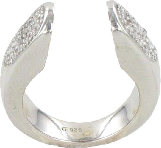 Verwisselbare Steen Ring - 925 Zilver - 19mm - ER02319
