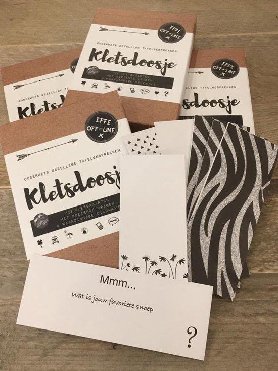 Kletsdoosje met 108 kletskaarten - Reiseditie - Kletskaarten