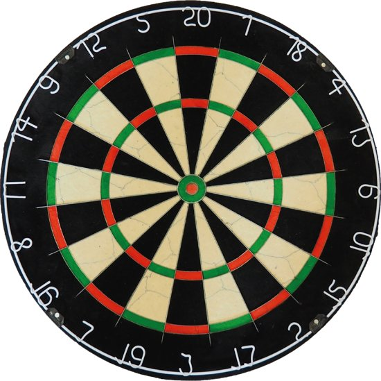 A-merk Plain Bristle - dartbord - Top kwaliteit - Best geteste - dartbord
