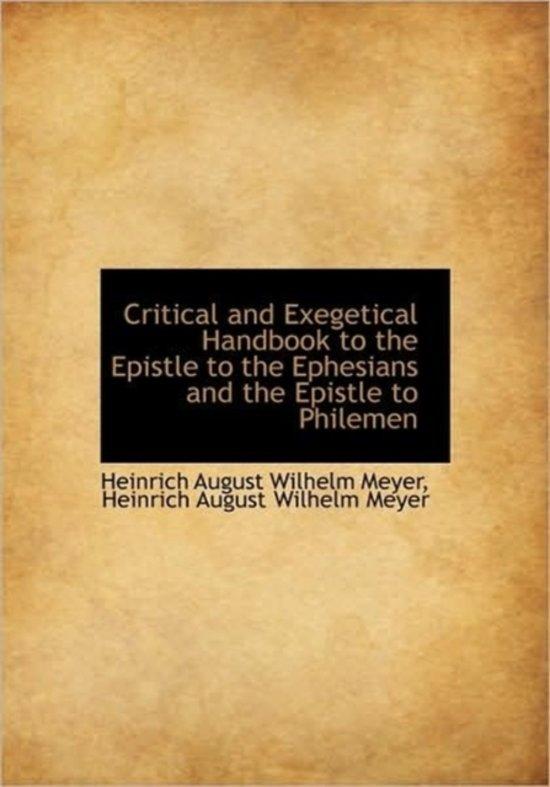 exegetical over ephesians 3 14 21 Nt 628 exegesis of ephesians aida besancon spencer office: goddard library 110 (978-646-4084) home: 10 maple st, s hamilton, ma.