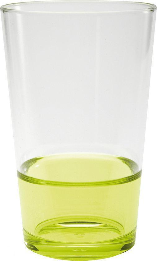 Zak!Designs Fizz Drinkbeker - 30 cl - Groen - Set van 6 stuks