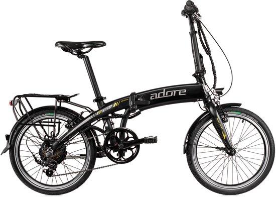 Adore Fiets (elektrisch) Pedelec E-Bike Elektrische Vowfiets 20'' Adore Cologne zwart - 30 cm