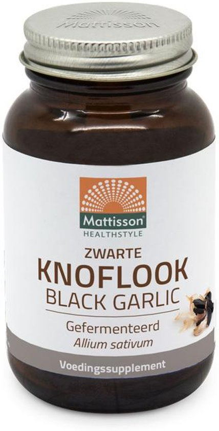 Mattisson Zwarte knoflook gefermenteerd