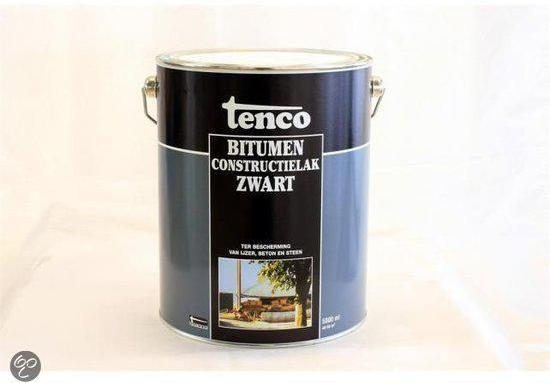 tenco-bitumen verf 5000ml