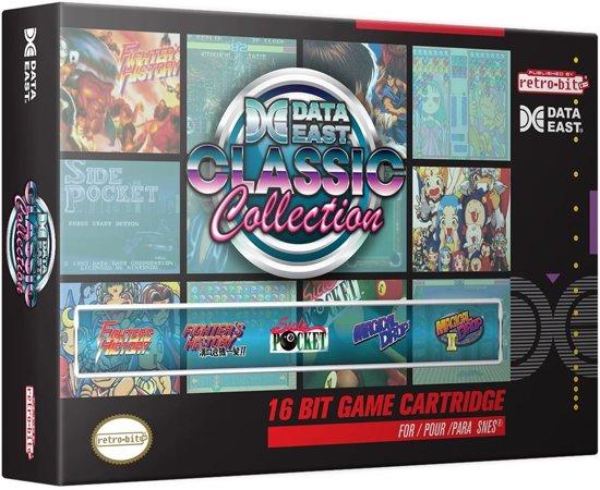 Cover van de game Retro-Bit Data East Collection SNES