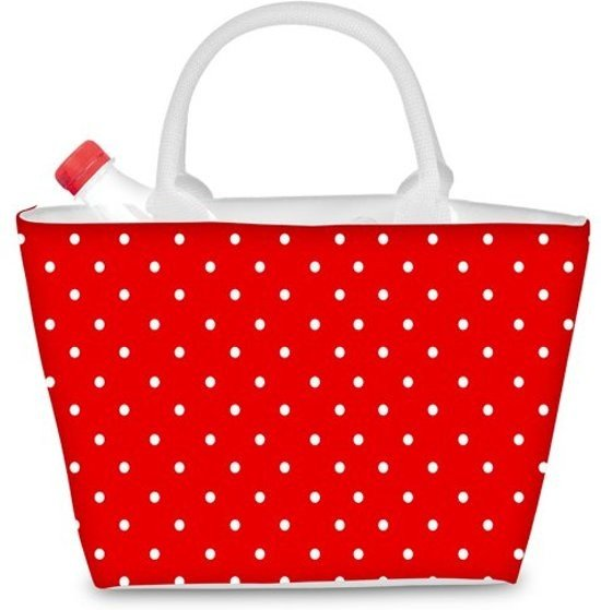 Beper ES.050R - 5 Liter koel tas trendy rode kleur Valentinaa