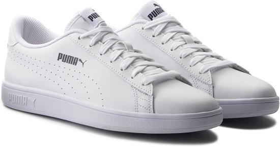b2ea1afca7a bol.com | Puma Smash v2 L Sneakers - Maat 43 - Mannen - wit