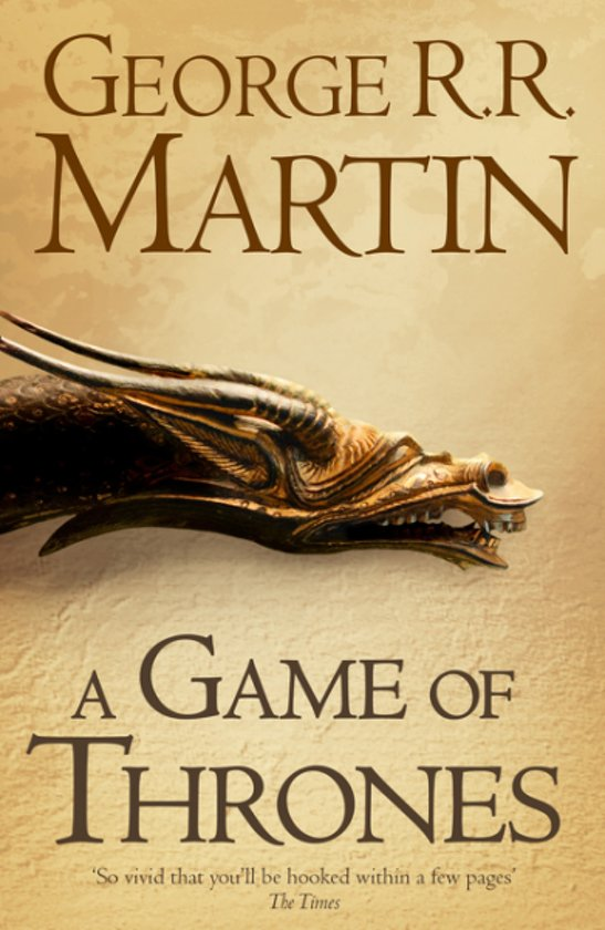 Boek cover A Song of Ice and Fire 1 - A Game of Thrones van George R.R. Martin (Paperback)