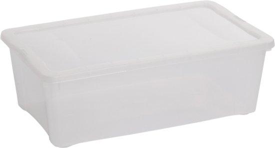 Hega Hogar Opbergbox - 5 l - Transparant