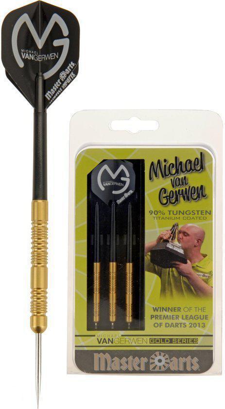 Masterdarts MVG 90% Tungsten Gold 21 gr.
