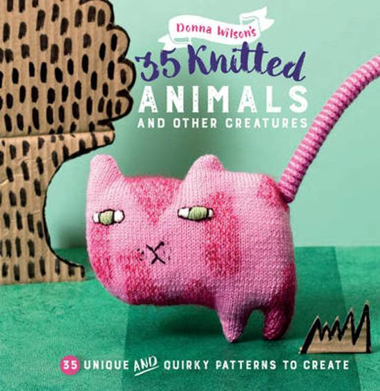 35 Knitted Animals and other creatures