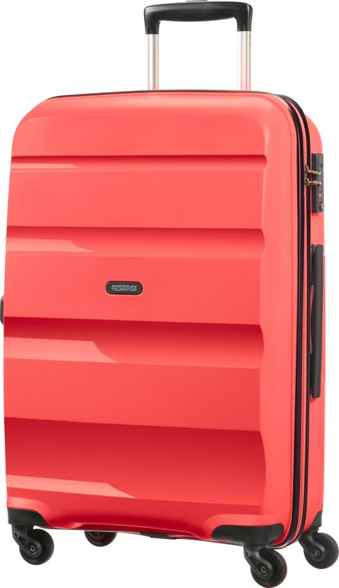 american tourister bon air spinner m koffer 66 cm bright coral. Black Bedroom Furniture Sets. Home Design Ideas